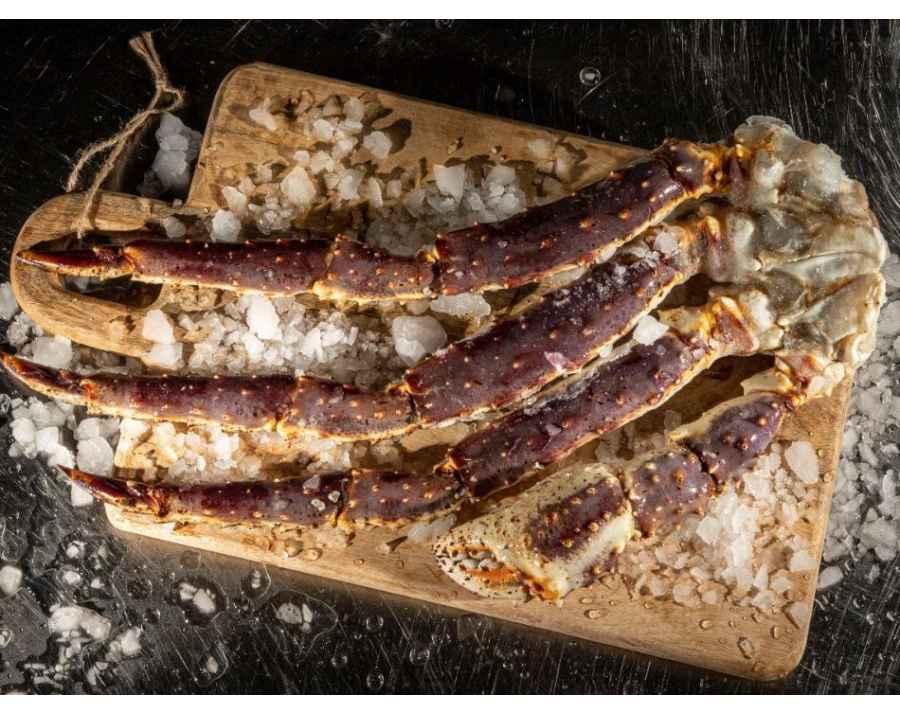 Crabe ROYAL Russe du Kamtchatka (Cuit)